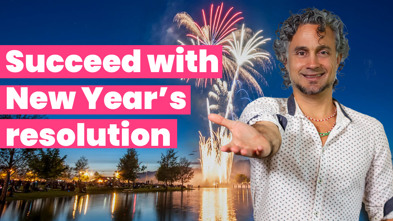 Succeed with New year's resolution